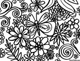 Download Coloring Pages Flower Free Crayola With Related To Adult
