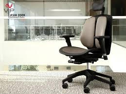 vip asia 2009 h1 duoback korea s functional chair duorest alpha