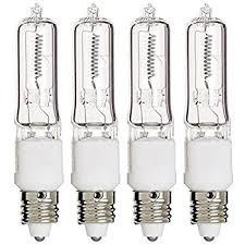hikari jd7203 50 watt halogen light bulb t4 mini candelabra