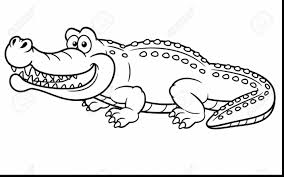 Crafty Inspiration Alligator Coloring Pages Magnificent Crocodile To Print With