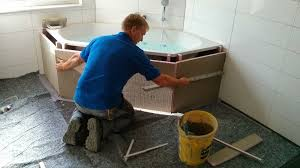 das bad wird fertig projekt fertighaus