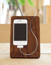 Wooden iPhone Dock s