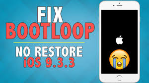 How to Fix Bootloop Stuck on Apple Logo on iOS 9 3 3 10 2 NO