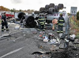 2 Hurt, Sewerage Spilled On I-195 As Septic Truck Overturns - News ... Truck Accident Lawyer Nj Have You Been Injured In A Teacher Student Killed Horrific Accident Volving School Bus Driver Tanker Truck On New Jersey Turnpike Two Dead As Crashes With Triaxle Dump Collides And Overturns Onto Vehicle Sending Fedex Tractor Trailer Overturns Snarling Traffic Man Dies Crash With Ctortrailer Police Nbc Company Involved Deadly Crash Has Causes Big Delays On Route 78 Cbs Local Deli Meat Collides Bread Highway Mount Olive 80 School Dump