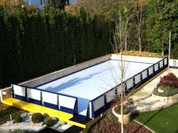 Backyard Synthetic Ice Rink Built Over A Pool In Vienna | Backyard ...