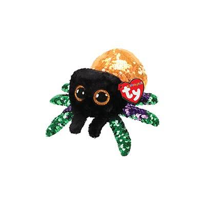 Ty Flippables Sequin Plush - Glint The Spider (Regular Size - 6 inch)