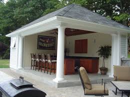 Decorative Pool Guest House Designs by Popular Pool House Designs And Popular Pool Side Cabana Plans To
