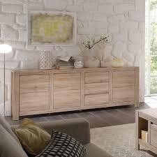 details zu kommode sideboard buffet country wohnzimmer schrank san remo eiche hell 215 cm