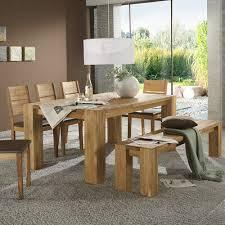 tischgruppe takania esszimmer tisch 4 stühle und bank in