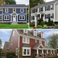 Colonial House Color Ideas Get Inspired With Siding Options