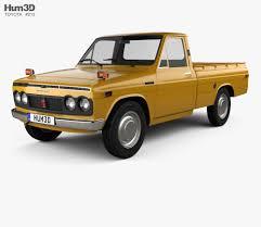 100 Toyota Pickup Truck Models Hilux 1968 3D Model