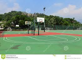 terrain de basket exterieur terrain de basket à extérieur photo stock image 37893012