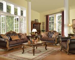 Formal Living Room Furniture Dallas by Traditional Sofa Set W 3 Pillows Dorothea By Acme Ac51590set
