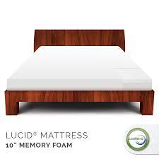 Lucid 10 Inch Memory Foam Mattress Review