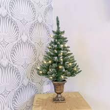 Vickerman Flocked Slim Christmas Tree by Flocked Pre Lit Christmas Tree Christmas Lights Decoration