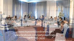 Winter Wonderland Quinceanera Decoration By Event Coordinators Etc