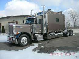100 Big Truck Sleepers Peterbilt Custom Semi Ict Sleeper Pinterest