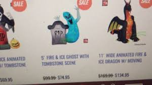 Walmart Halloween Blow Up Decorations by New Halloween Inflatable For 2017 Youtube