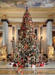 Whitehalls First Floor Is Decorated In Traditional Gilded Age Splendor Through Christmas Day Each Year The Focal Point A 16 Foot Tall Tree