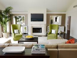 Los Angeles Hollywood Regency Decor With Faux Leather Bar Height Stools Living Room Contemporary And Fireplace