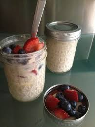 Pumpkin Pie Overnight Oats Rabbit Food by Overnight Blueberry Almond Oats Recipe Recipes With