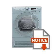 notice seche linge hotpoint ariston gcc 7913nbs sèche linge condensation 9kg silver achat