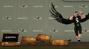 ESPN Turns Joe Flacco Into Nightmarish Dancing Raven For MNF Infographic