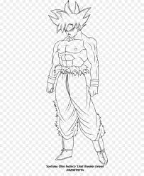 7 Goku Lineart Transparent For Free Download On Ayoqqorg