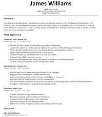 Sample Resume For Cashier Resumelift