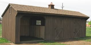 Shed Row Barns For Horses by Horse Barns 12x28 Shed Row Horse Barn With Stall Run In U0026 Tack Room