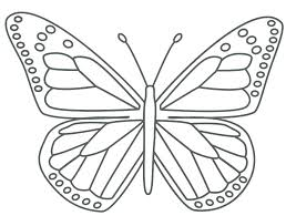 Cute Butterfly Coloring Pages Seasonal Colouring Butterflies Kids