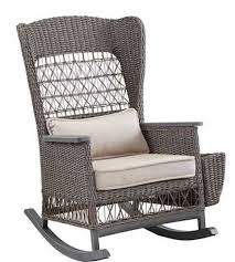 Dogwood Cast Ash Outdoor Rocker - Woodstock Furniture & Mattress ... Hampton Bay Spring Haven Brown Allweather Wicker Outdoor Patio Noble House Amaya Dark Swivel Lounge Chair With Outsunny Rattan Rocking Recliner Tortuga Portside Plantation Wickercom Wilson Fisher Resin Recling Ideas Fniture Unique Clearance 1103design Chairs S Rocker High Indoor Lounger Alcott Hill Yara Cushions In 2019 Longboat Key At Home Buy Cheap Online Sale Aus