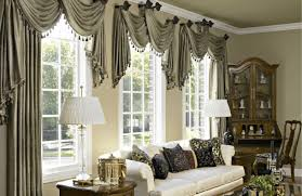 Geometric Pattern Window Curtains by Dining Room Curtains Kitchen Window Curtain Panels Decorating