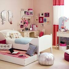 Bedroom Fascinating Girl Teen Room Decor Cheap With Furniture Double Bed