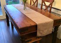 Kitchen Tables Gumtree Durham With Sheesham Solid Wood Dining Table Bench And Chairs In