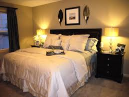 Decor Bedroom Ideas Small Master For Decorating Marvelous Design Of The With Black Wooden Side Table