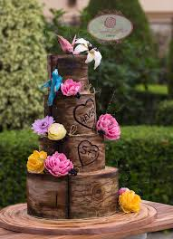 We Will Be Having A Live Demo Class Where Show You How To Create The Crackled Wood Effect Like Have On This Rustic Wedding Cake