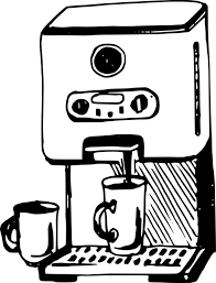 Coffeemaker Moka Pot AeroPress Drawing