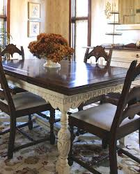 Painted Dining Room Furniture Table And Chairs Ideas Large Oak Grey Painting