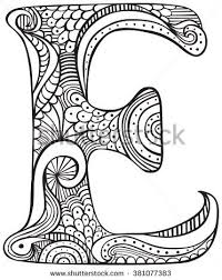 Image Result For Free Colouring Pages Adults Letters