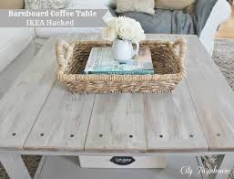 Ikea Lack Sofa Table Colors by Ikea Hacked Barnboard Coffee Table Tutorial City Farmhouse