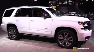 2015 Chevrolet Tahoe LTZ Exterior and Interior Walkaround 2015