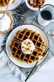 Libbys Pumpkin Cookies Oatmeal by Flourless Vegan Pumpkin Oatmeal Waffles Making Thyme For Health