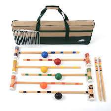 Amazon.com : Lion Sports Premier 6 Player Croquet Set, 28-Inch ... Backyard Games Book A Cort Sinnes Alan May Deluxe Croquet Set Baden The Rules Of By Sunni Overend Croquet Backyard Sei80com 2017 Crokay 31 Pinterest Pool Noodle Soccer Ball Kids Down Home Inspiration Monster Youtube Garden Summer Parties Let Good Times Roll G209 Series Toysrus 10 Diy For The Whole Family Game Night How To Play Wood Mallets 18 Best And Rose Party Images On