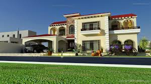 100 Mediterranean Architecture Design 3D Front Elevationcom Beautiful House Plans