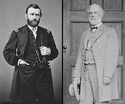 Gen Ulysses S Grant And Robert E Lee