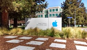 apple siege apple headquarters in silicon valley editorial stock photo