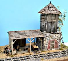 A Tool Shed Morgan Hill California by On30 Stone Water Tank Kit