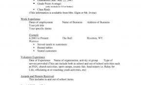 Resume Template Highlighting Education Fresh Scholarship Templates