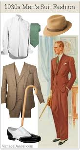 1930s Menswear Outfit Clothing Ideas
